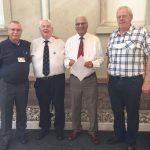 Delegates from the original meeting in 1994 J.Peelman,G. Al-Nasser & B. Christiansen